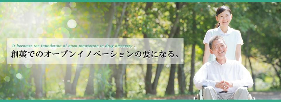 日本のアカデミアの研究成果を基にした革新的医薬品の創製を目指します。